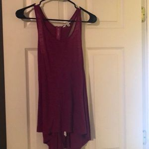 American Eagle Tank Top in Berry